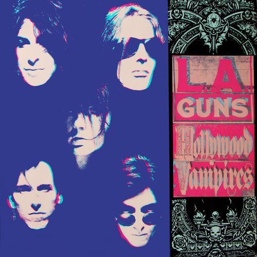 LA GUNS- HOLLYWOOD VAMPIRES